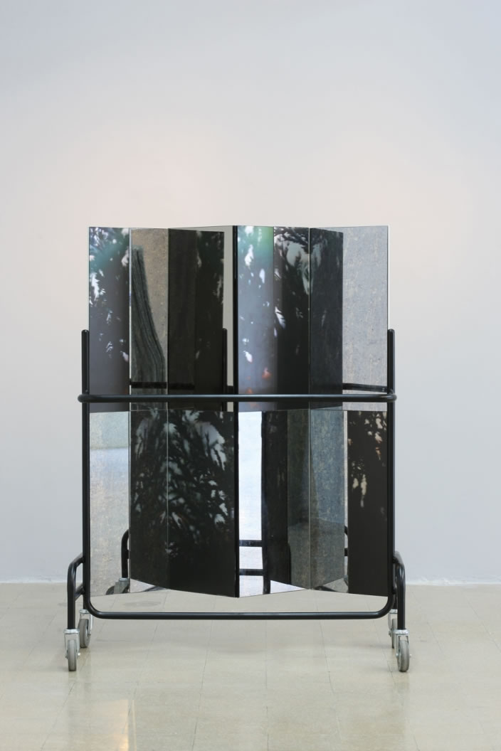 Screen (Structure 1), 2012, mixed media, 145 x 100 cm
