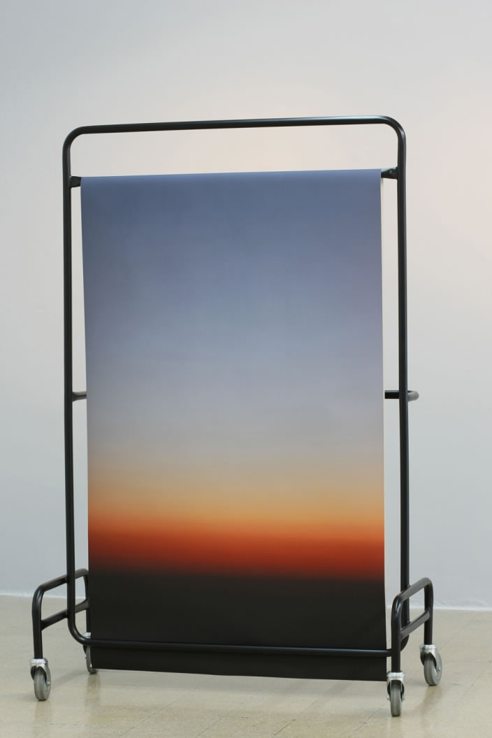 Sunset (Structure 3), 2012, mixed media, 170 x 100 cm