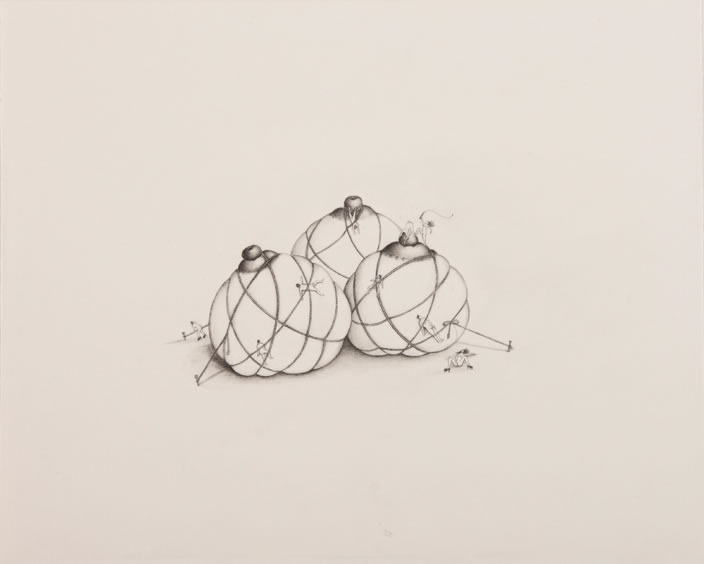 Pleasure Principle, 2012, Pencil on paper, 20 x 24.5 cm