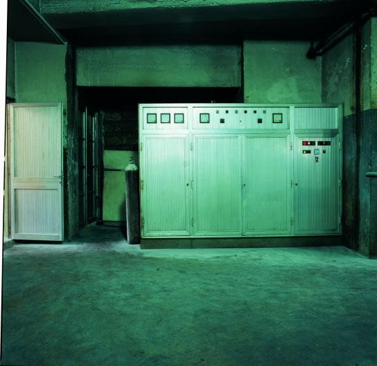 Clara Gebran, Untitled from The Industrial Factories Series, Digital C-print, 120 x 120 cm, Edition 1/5