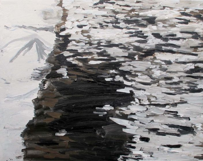 Untitled (Rock Ruin), 2012, Oil paint on canvas, 60 x 75 cm